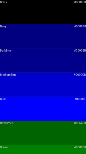 Color code For PC Windows (7, 8, 10, 10X) & Mac Computer Image Number- 7