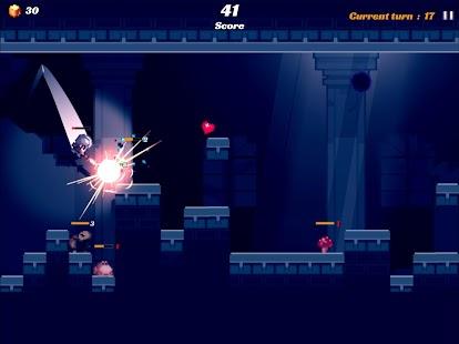 Tiro in salto - Screenshot del cavaliere in salto