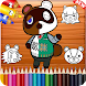 animal crossing for coloring - Androidアプリ