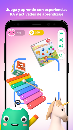 PleIQ - Recurso Educativo con Realidad Aumentada apkdebit screenshots 2