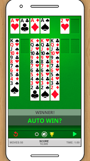 SOLITAIRE CLASSIC CARD GAME 1.5.15 screenshots 3