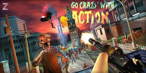 Télécharger Gratuit Mort Zombie Shooter: Jeux Zombie cible 3D APK MOD (Astuce) screenshots 1
