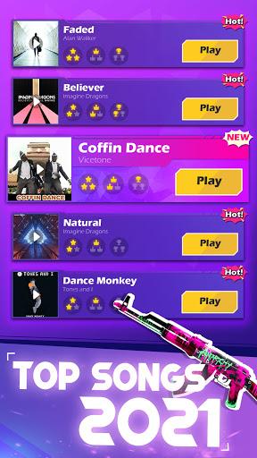 Beat Shooter - Gunshots Rhythm Game  screenshots 1