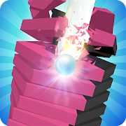 Jump Ball - Crush Stack Ball Tower