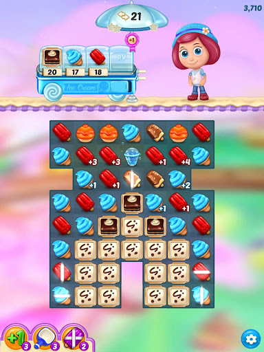 Ice Cream Paradise - Match 3 Puzzle Adventure 2.7.5 screenshots 16