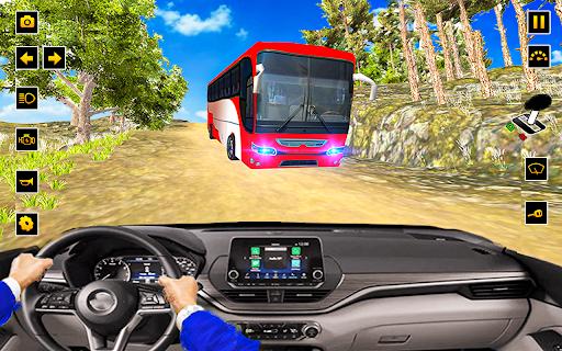 Drive Hill Coach Bus Simulator : Bus Game 2019  screenshots 1