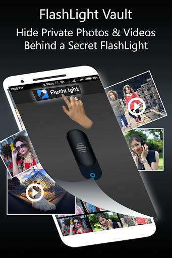 Flashlight Vault : Gallery Locker & Video Vault screenshots 2