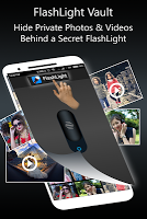Flashlight Vault : Gallery Locker & Video Vault