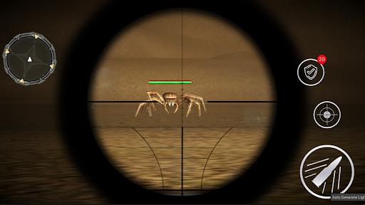 Monster Spider Shooting World Hunter -Spider Games screenshots 11
