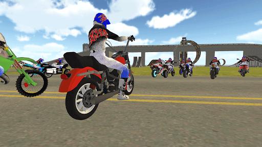 Bike Rider VS Cop Car - Police Chase & Escape Game Apkfinish screenshots 16