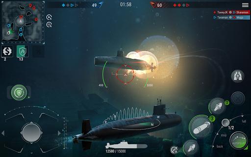 WORLD of SUBMARINES: Navy Warships Battle Wargame Apkfinish screenshots 18