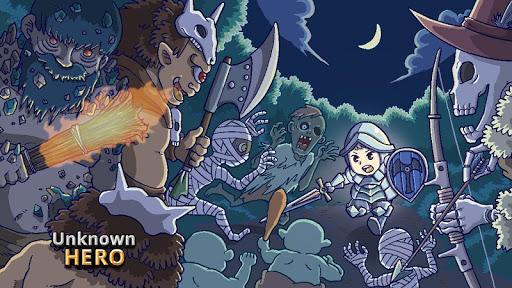 Unknown HERO - Item Farming RPG. 3.0.284 screenshots 1
