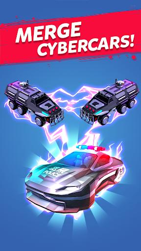 Merge Cyber Cars: Sci-fi Punk Future Merger 2.0.23 screenshots 5