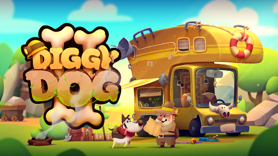 My Diggy Dog 2 Mod Apk 1.4.12 (Unlimited Currency) 1