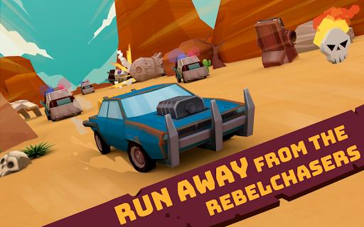 rc mad chase - racing cars vs cops screenshot 1