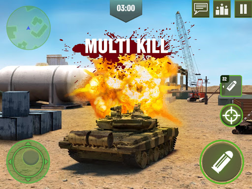 War Machines: Tank Battle - Army & Military Games 5.12.1 screenshots 2