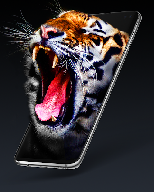 Live Wallpapers 4K, Backgrounds 3D/HD - Pixel 4D Android App Screenshot