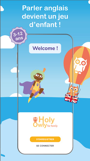 Holy Owly nu00b01 anglais pour enfants 2.3.4 screenshots 1