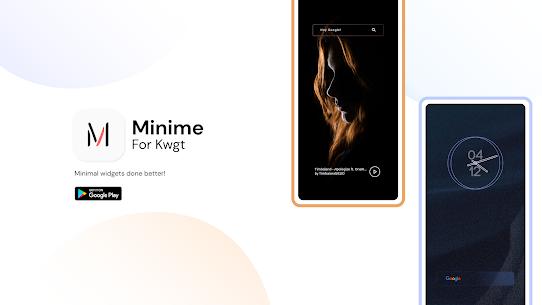 Minime KWGT Mod Apk vMin 1.1(Paid) 1