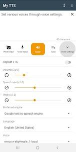 My TTS: Text-to-Speech MOD APK (Premium Unlocked) Download 7