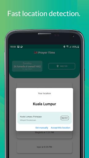 Malaysia Prayer Time 2021  Screenshots 3