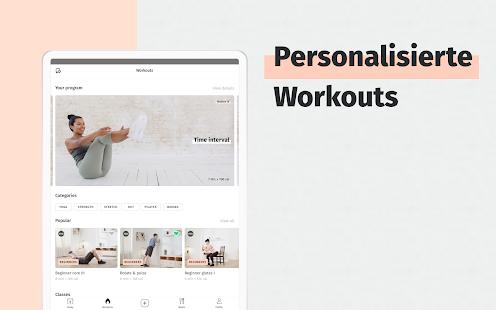8fit Workout & Ernährungspläne Screenshot