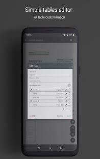 Database Designer - Full free development app