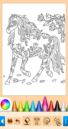 Coloring game for girls and women 15.1.4 screenshots 16