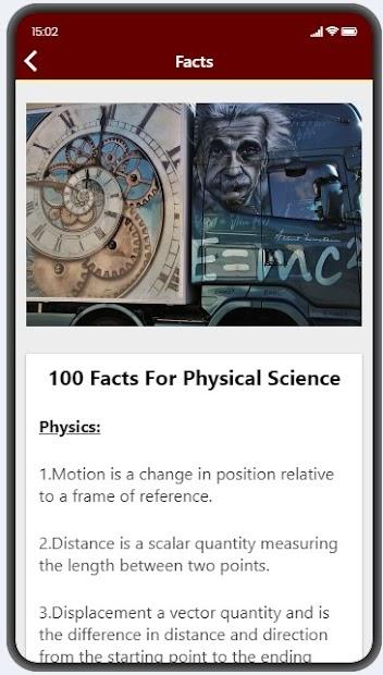 Physics Facts screenshot 2