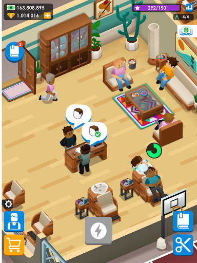 Idle Barber Shop Tycoon - Business Management Game 1.0.1 screenshots 12