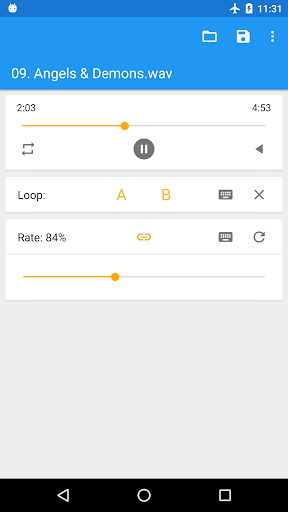 Music Speed Changer (Classic)  screenshots 4