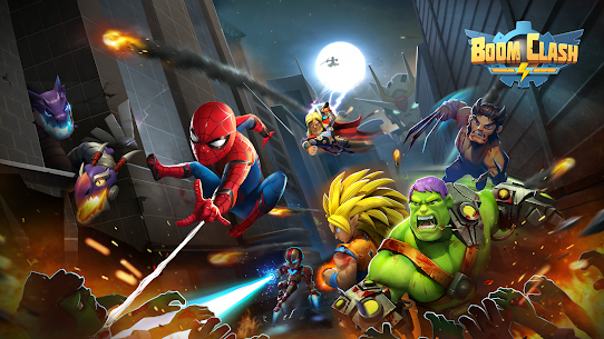 Boom Clash  Heroes Battle Royale Apk 1