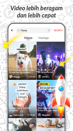 LIKEit Lite - Funny video&Music android2mod screenshots 4