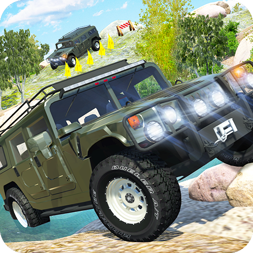 Offroad Car H Icon