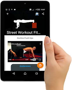 Street Workouts Calistenia : Entrenador Fitness Screenshot
