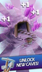 Clicker Mine Idle Adventure – Tap to dig for gold! 4