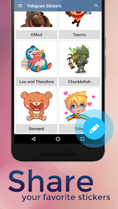 Stickers for Telegram Apk Download NEW 2021 3