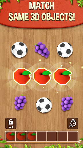 Match Triple 3D - Matching Puzzle Game modiapk screenshots 1