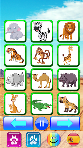 Animal sounds. Learn animals names for kids 6.6 screenshots 11