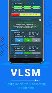VLSM CIDR: Subnet Calculator