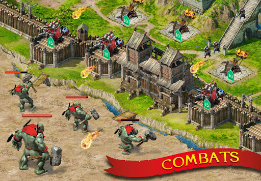 Télécharger Gratuit Stormfall: Légendes et Dragons APK MOD (Astuce)width=