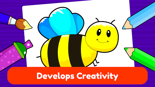 Learning & Coloring Game for Kids & Preschoolers  screenshots 2