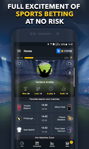 Sports Betting Game - BETUP  screenshots 2