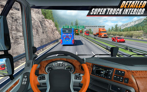 Euro Truck Driving Simulator 3D - Free Game  screenshots 2