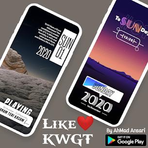Like ❤️ KWGT (MOD, Paid) v6.0 3