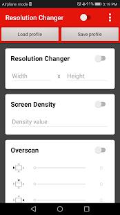 Screen Resolution Changer: Display Size & Density 2.0 Screenshots 15