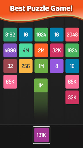 X2 Blocks u2013 Merge Numbers 2048  screenshots 2