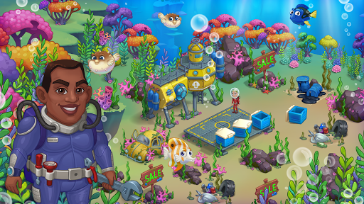 Aquarium Farm -fish town, Mermaid love story shark screenshots 7