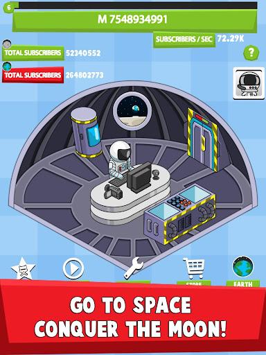 Tube Tycoon - Tubers Simulator Idle Clicker Game 1.61.6 Screenshots 7