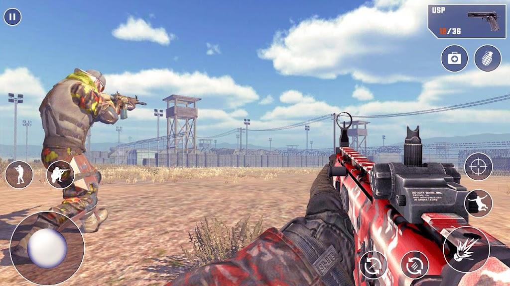 FPS Encounter Secret Mission: Best Shooting Games  poster 0